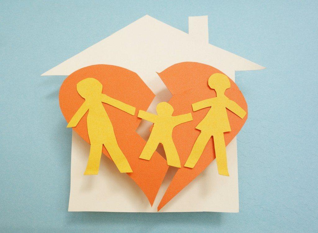 Развод родителей - страдают дети